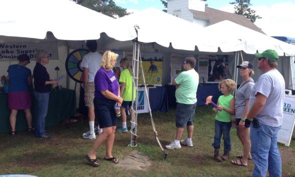 WLSSD Booth @ Carlton County Fair