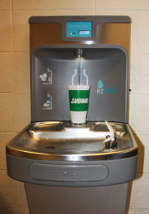 A Couple Of Months Ago, WLSSD Installed New Water Fountains With Water  Bottle Fillers In Our Buildings. As Of Today, The Counter On One Outside  Our ...